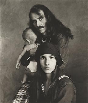 "IRVING PENN ""HIPPIE FAMILY, SAN FRANCISCO 1967"""