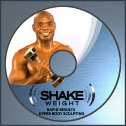 Shake Weight For Men DVD