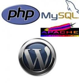 Apche php Mysql Wordpress