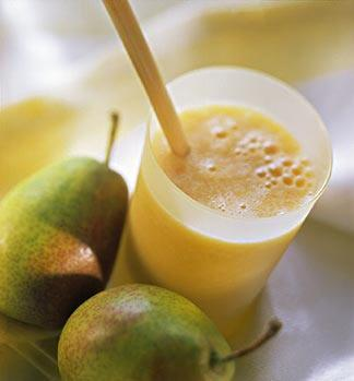Pear juice natural