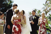 Everyone must feel warmed by your wedding...
