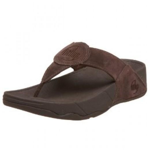 FitFlop Oasis Thong sandal in chocolate. mmmmmm.