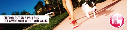 FitFlop sandals started the toning shoes craze in 2007