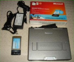 Getting a Panasonic CF-M34 Toughbook Up and Running (In Burnaby)