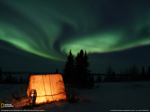 Aurora Borealis, Manitoba Canada