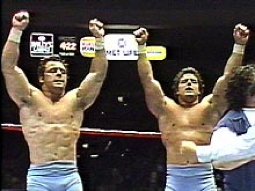 Davey Boy Smith and The Dynamite Kid Tom Billington created one of the most recognized and dominant international tag teams of all time. The Dynamite Kid was known as the man of a 1,000 holds, a name dubbed unto him during his tenure spent in Britain