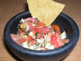 salsa - a great condiment for all sorts of food