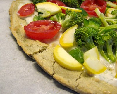 Gluten free whole wheat pizza crust