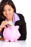 """Put your wedding $$ in your piggy bank. Don't spend it on """"save-the-date"""" cards!"""