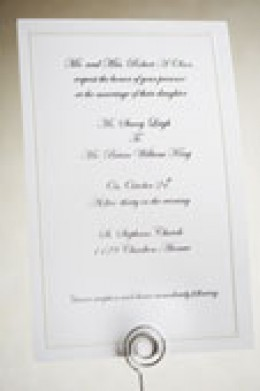 Use your wedding invitations to their best advantage and $ave money!