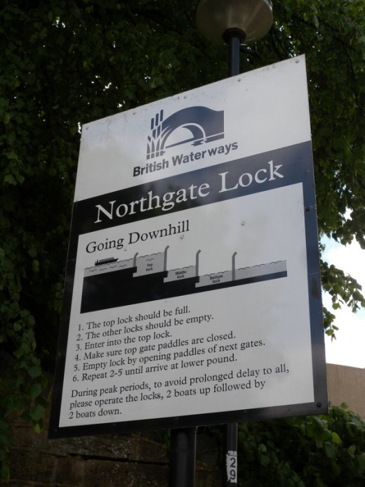 Ok, read up, here is what you need to do if you are going to get through the locks.