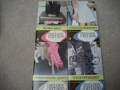 Some of the Carter House Girls books