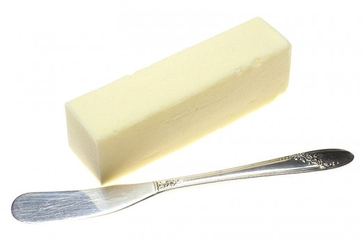 Margarine is an unhealthy substitute for butter, as it is full of trans fats.