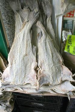 Barbados and Salt Cod Fish