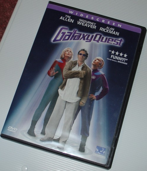 I love this movie - Galaxy Quest is with me everywhere my phone goes!