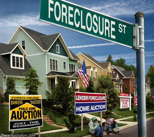 In 2008 there were so many foreclosures on sub-prime mortgages, that it triggered the economic crisis that enveloped the world.