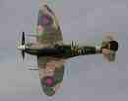 Spitfire Mk 9.  Came into service at the end of the Battle of Britain, fought by the Mk1 and Mk 2 models.