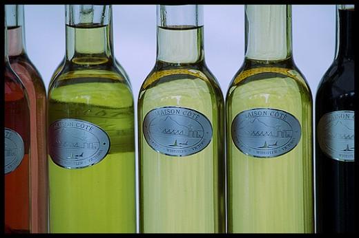 Light through Vinegar Bottles  Photo by Eric Flexyourhead via Flickr