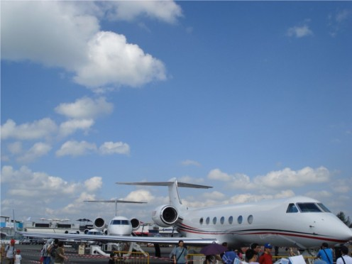 Singapore Air Show - Gulfstream