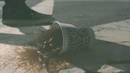 QR Codes in Kylie's video
