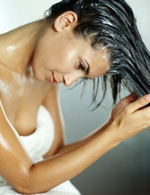 Vinegar for hair and itchy scalp