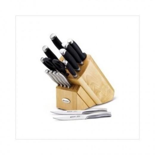 Anolon Advanced 15-piece knife block set