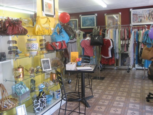 A view of my former boutique