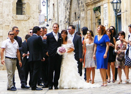 An Italian wedding in Polignano, Puglia
