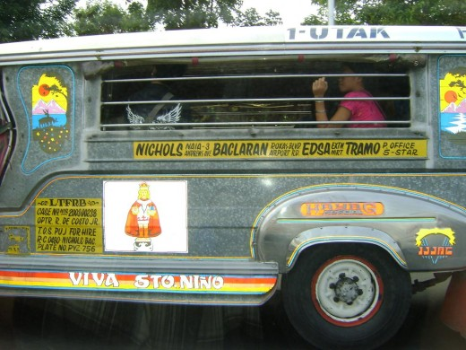 "Photo of a ""jeepney"""