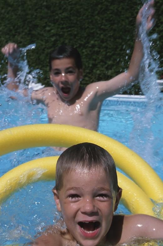 Pool Toys are fun