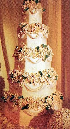 Jessica Simpson's Wedding Cake