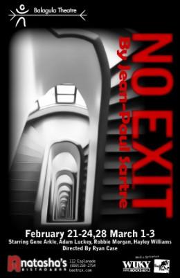 Jean-Paul Sartre's No Exit.