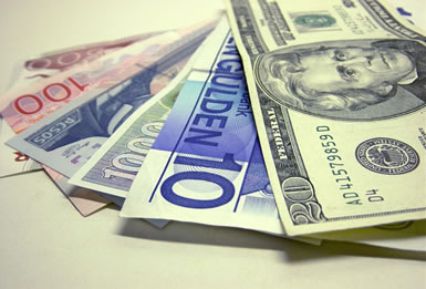 Foreign exchange market helps businesses to convert one currency to another