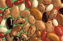 Beans are good for your heart.  Eating a cup of beans every day can lower your total cholesterol, which decreases your risk of heart attack
