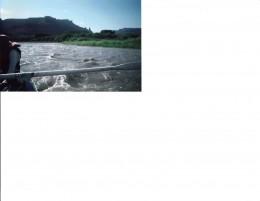 River under Utah skies