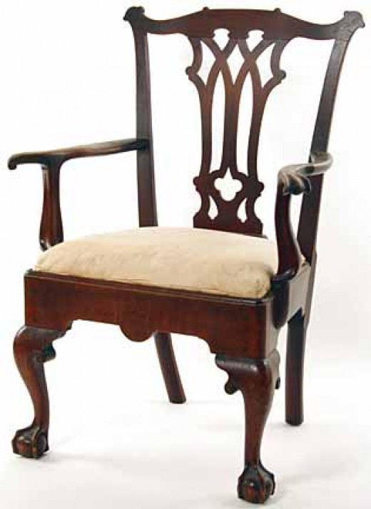 A THomas Chippendale chair made over 200 years ago