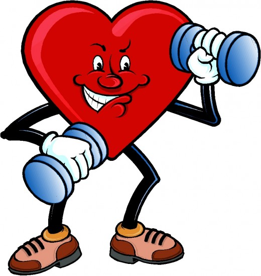 I will have a strong heart and be healty!