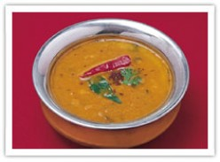 HOT COOL  SAMBAR TAKE A SPOON FULL AS YOU MUNCH CRUNCHY DOSA OR IDLY.