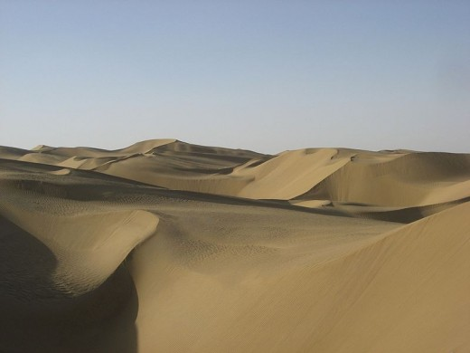 The Taklimakan Desert