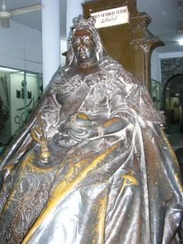 Queen Victoria in the Lahore Museum