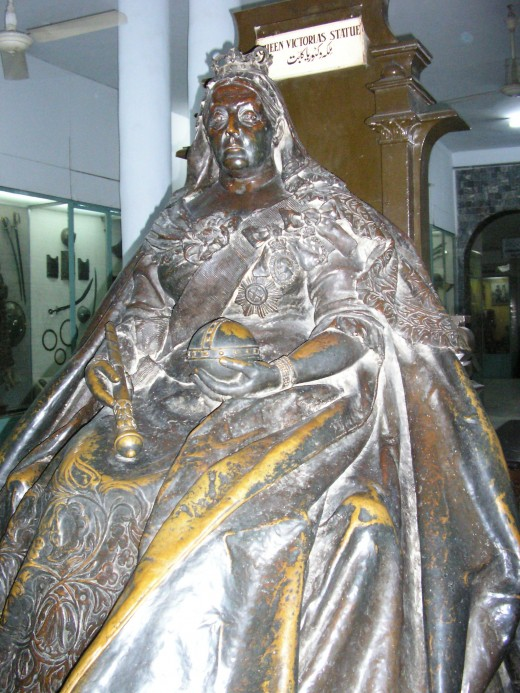 Queen Victoria in the Lahore Museum