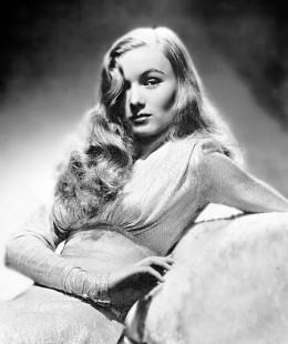 Actress from 1940's Veronica Lake had very pretty wavy hair