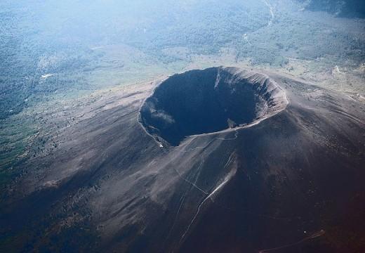 Mount Vesuvius, a stratovolcano in Italy