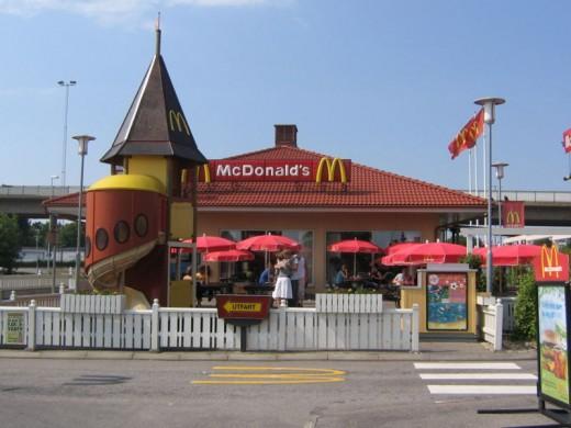 McDonalds in Sweden