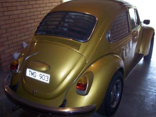 1972 Volkswagen 1600 Super Bug S
