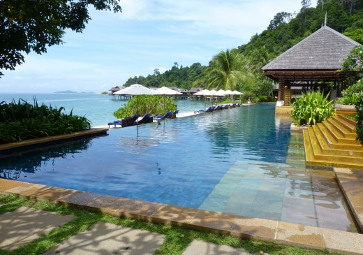 Pangkor Laut Lap Pool. Photo by Janice