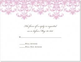 """Do not finalize the """"guarantee"""" until your invitations' responses are in from your wedding guests."""