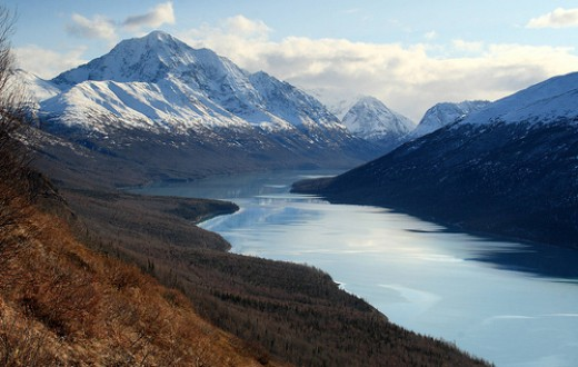 An Alaskan Lake