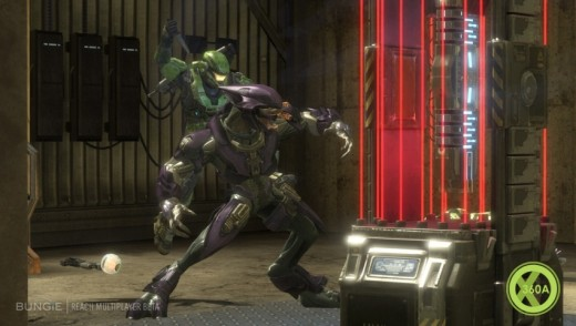 New stealthy takedowns in Halo reach
