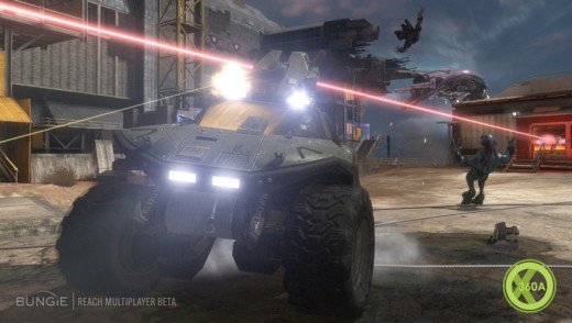 Old vehicles make a return in Halo Reach.